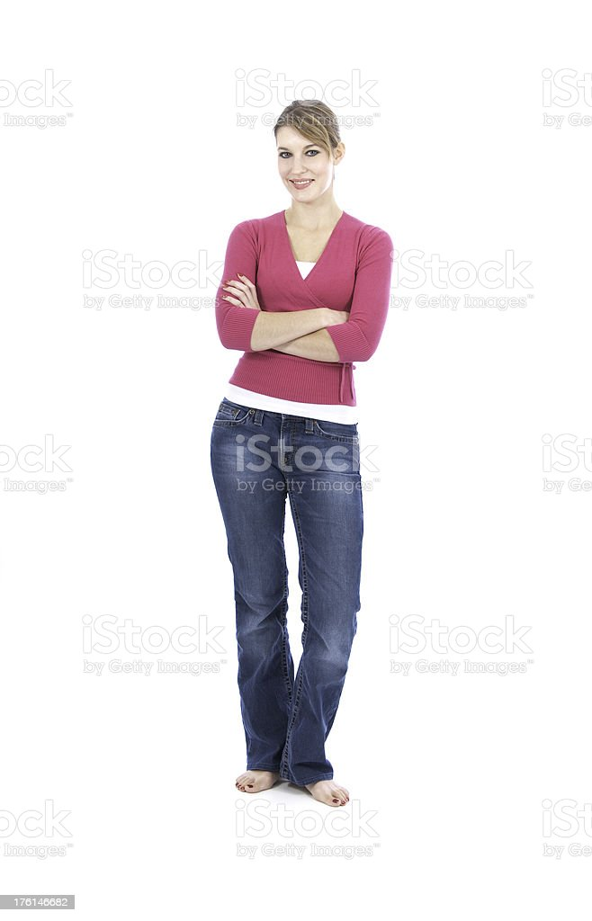Young Woman Series royalty-free stock photo