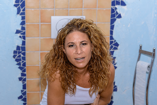 Girls Sitting On The Toilet Pictures, Images and Stock