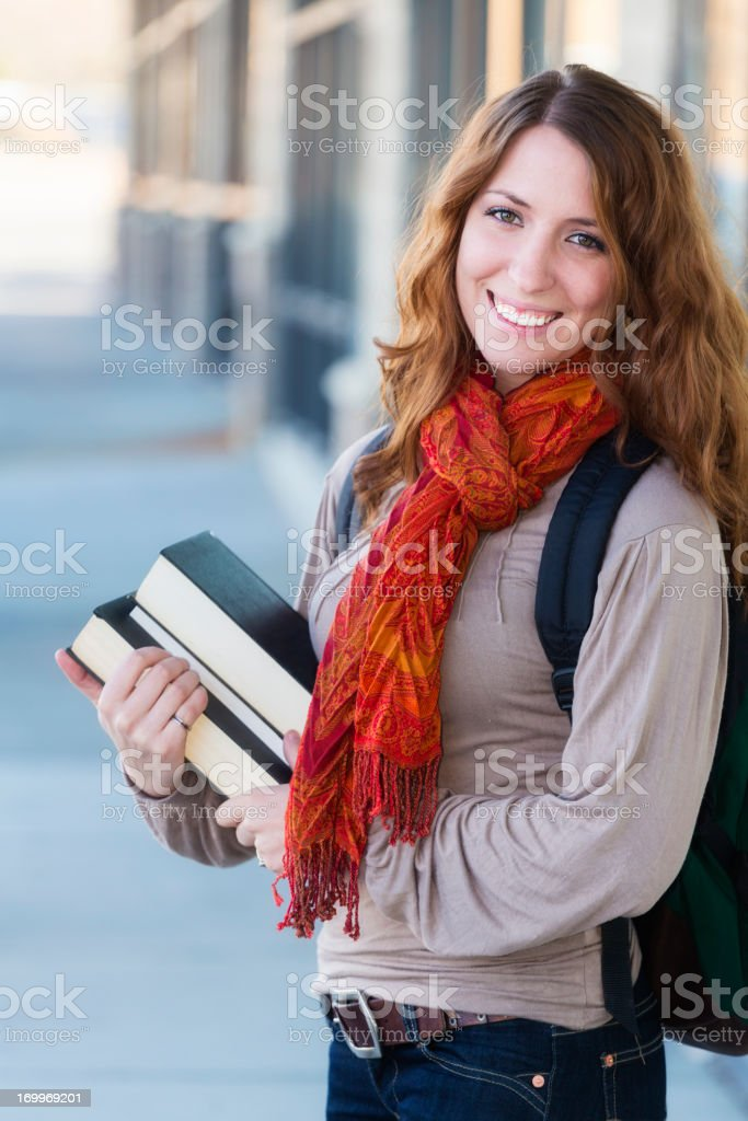 Young Woman Student royalty-free stock photo