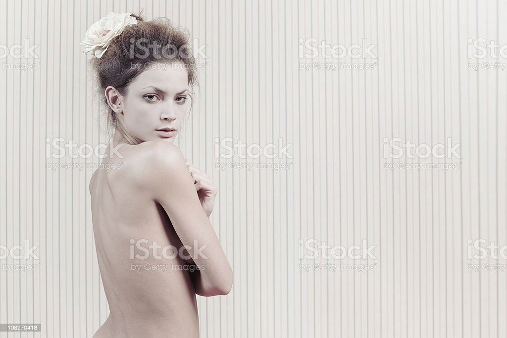 Young Woman's Backside royalty-free stock photo