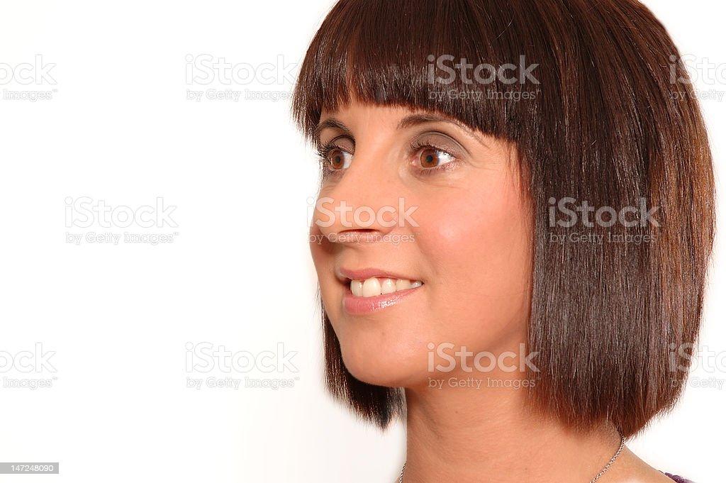 Young Womans Portrait stock photo