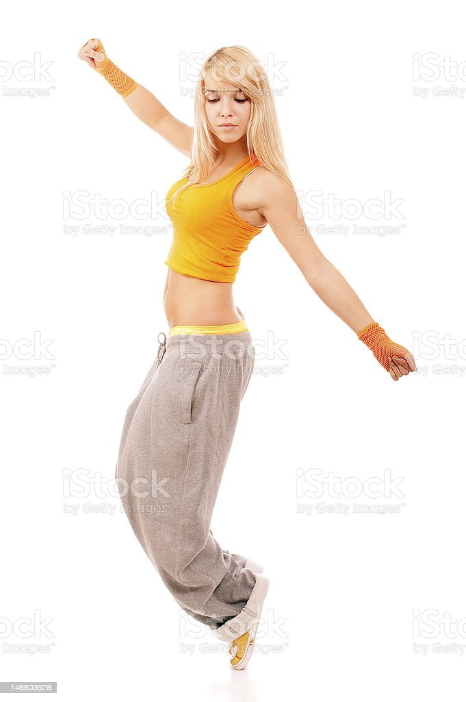 Young woman-sportswoman royalty-free stock photo