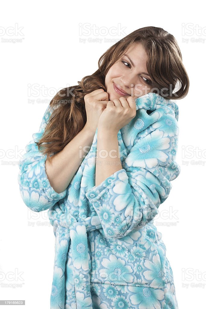 Young women dreaming royalty-free stock photo