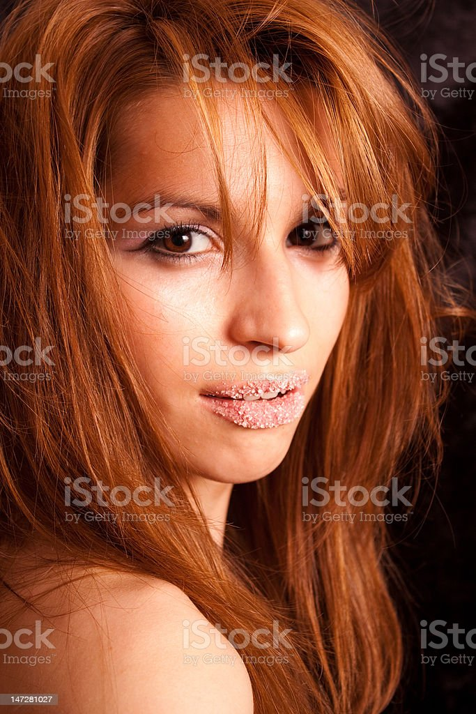 Young women portrait stock photo
