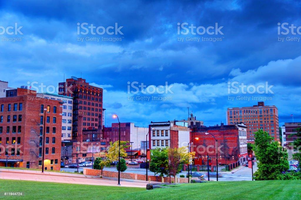 Youngstown, Ohio stock photo