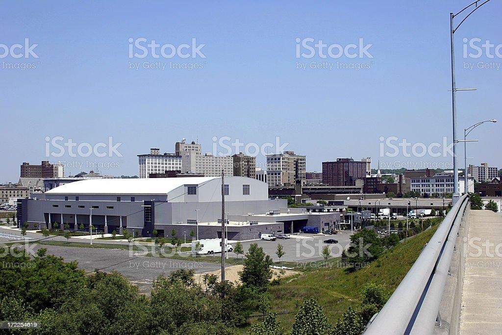 Youngstown Ohio Skyline stock photo