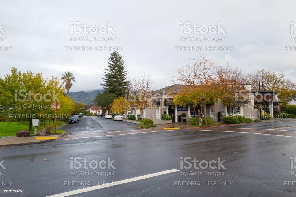 Yountville, California stock photo