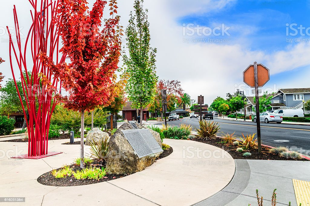 Yountville, California, USA stock photo