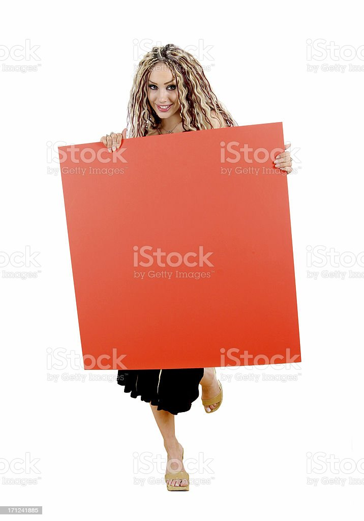 Your Ad Goes Here! B1 stock photo
