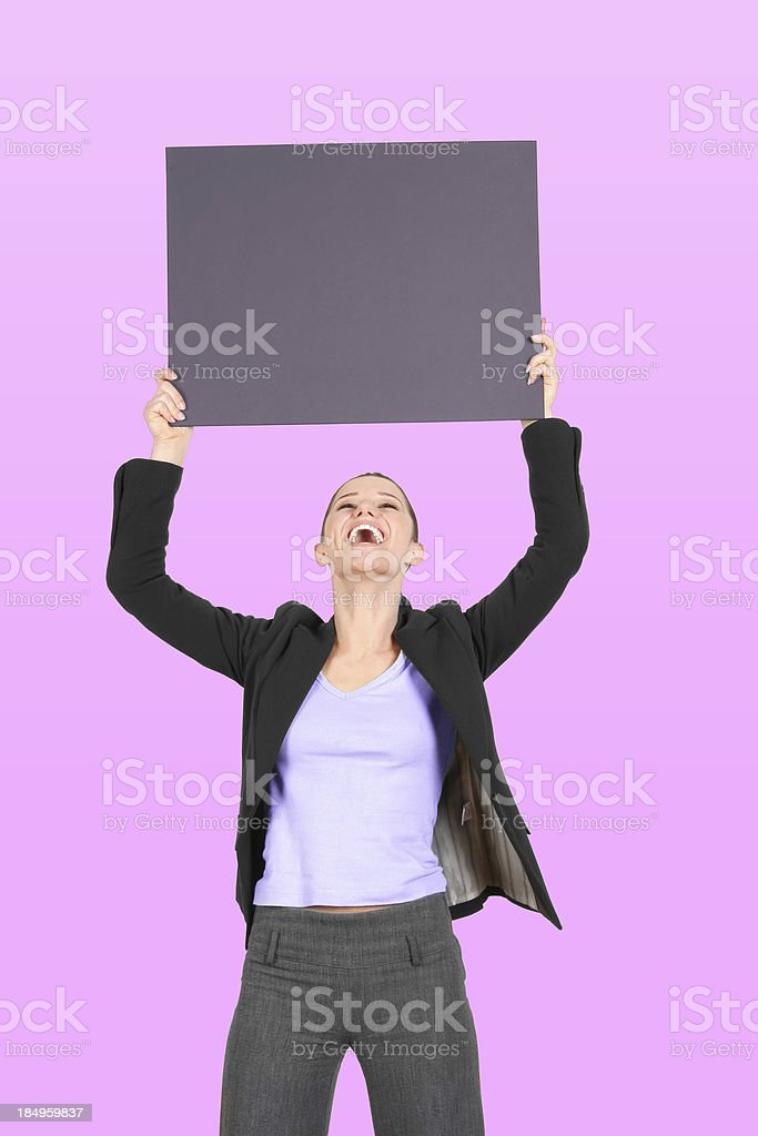 Your Ad Goes Here! stock photo