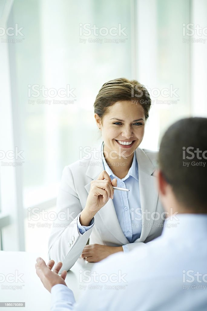 Your are the best candidate royalty-free stock photo