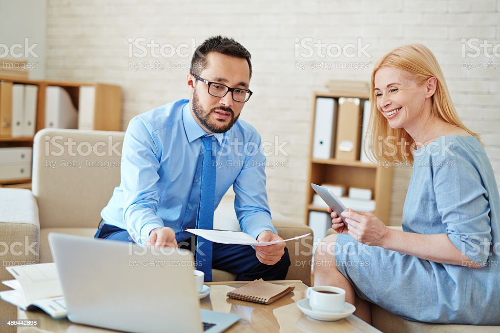 Your benefits stock photo