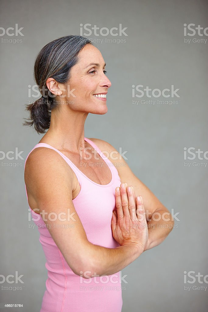 Your body is your temple stock photo