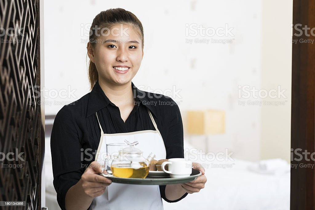 Your breakfast is ready! royalty-free stock photo
