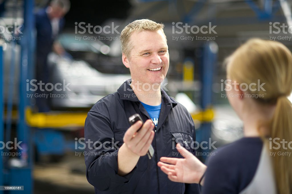 your car is finished royalty-free stock photo