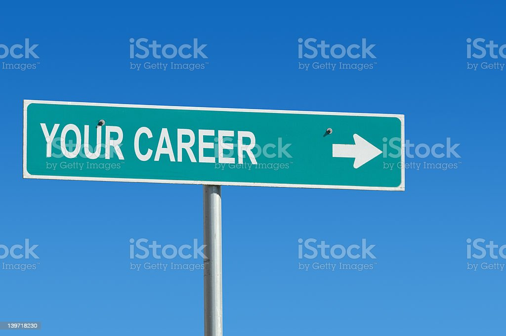Your Career royalty-free stock photo