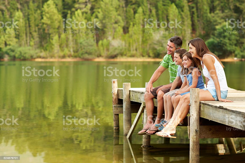 Your children will follow your example, not your advice stock photo