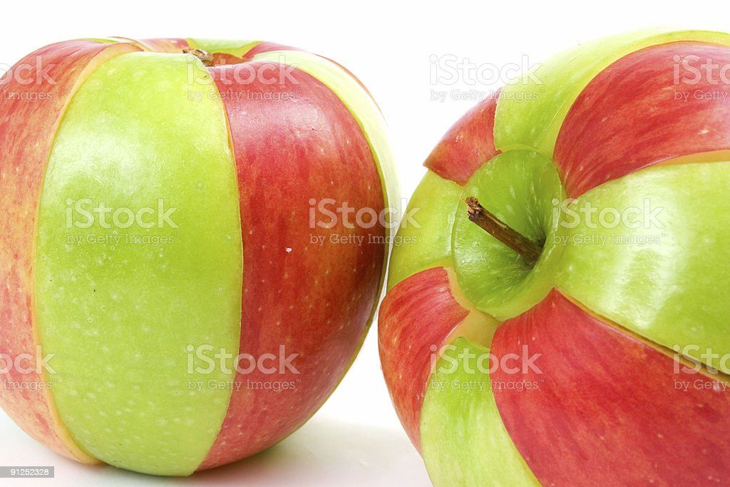 Your choice, red or green royalty-free stock photo