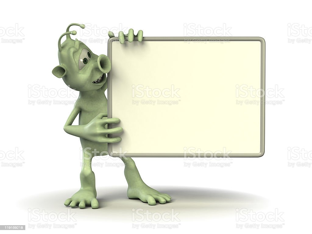 your empty board royalty-free stock photo