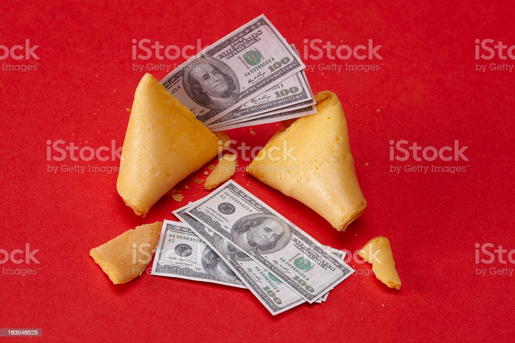 Your fortune cookie stock photo