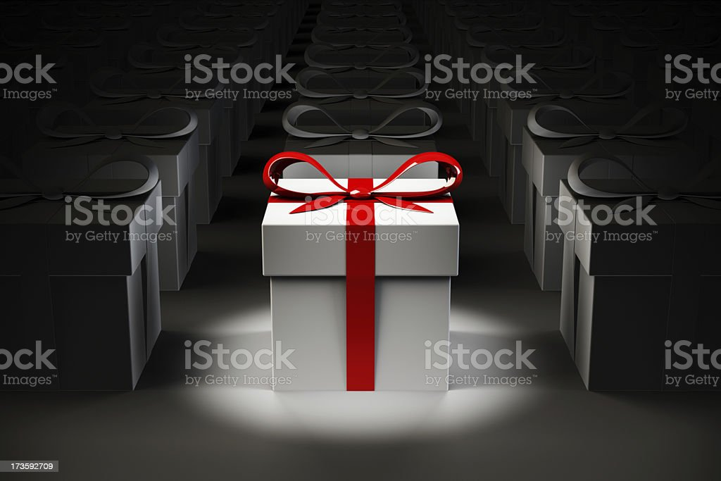 Your Gift Box stock photo