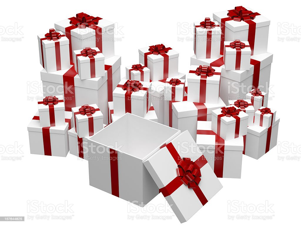 Your Gift royalty-free stock photo
