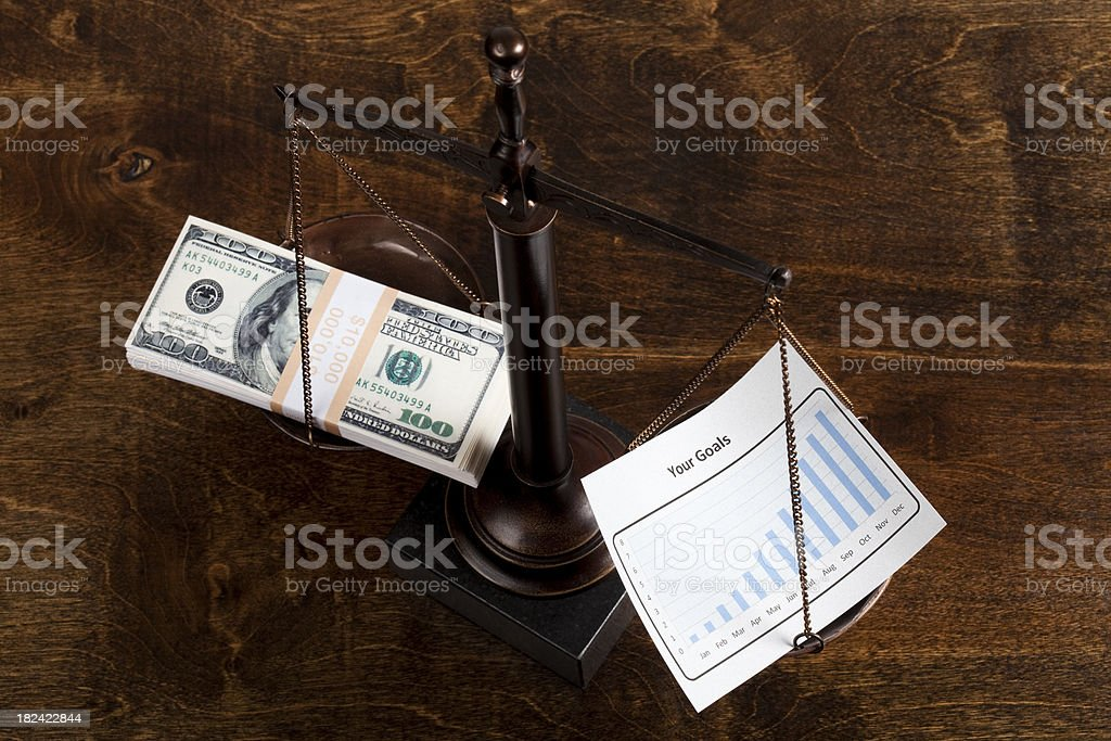 Your goals royalty-free stock photo