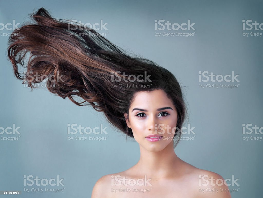 Your hair should make you stand out stock photo