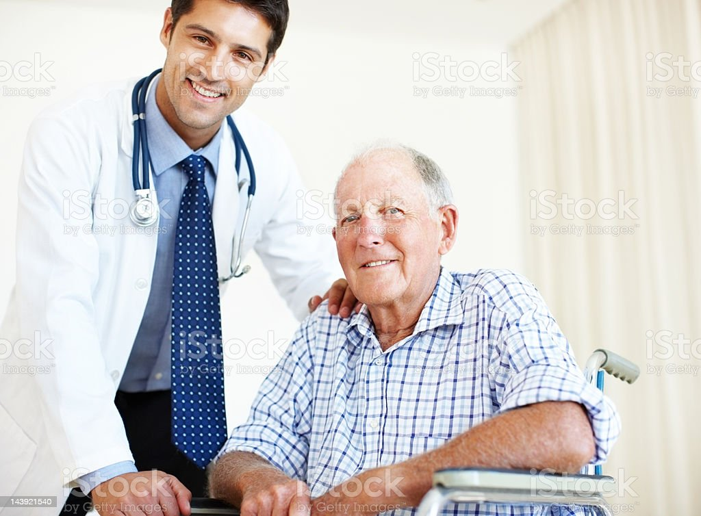Your health is foremost on my mind royalty-free stock photo