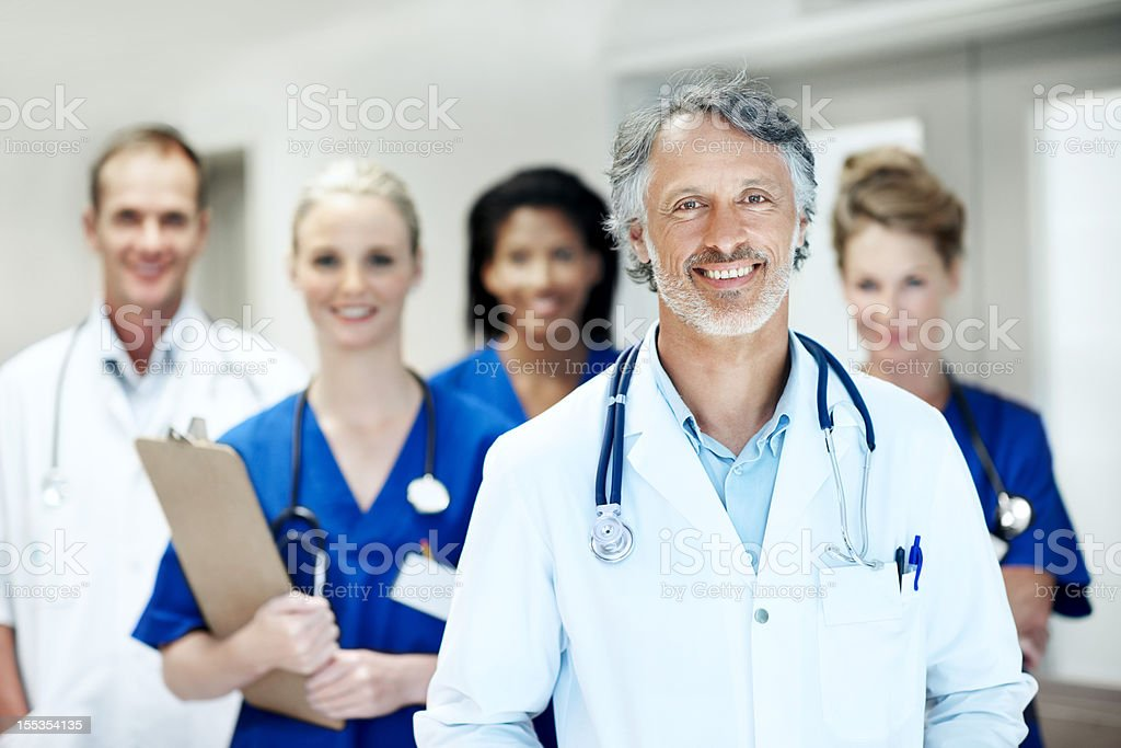 Your health is our priority royalty-free stock photo
