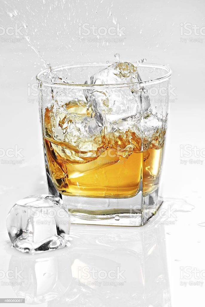 Your Holiday's whisky sir! royalty-free stock photo