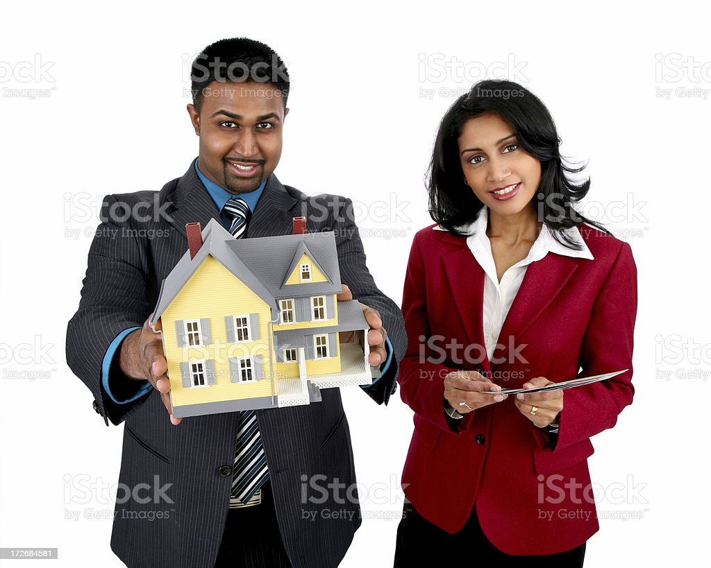 Your Home is ready! royalty-free stock photo
