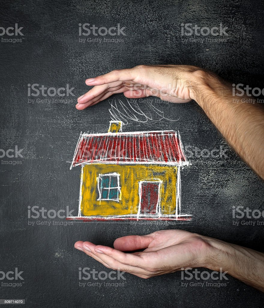 Your House Protection stock photo