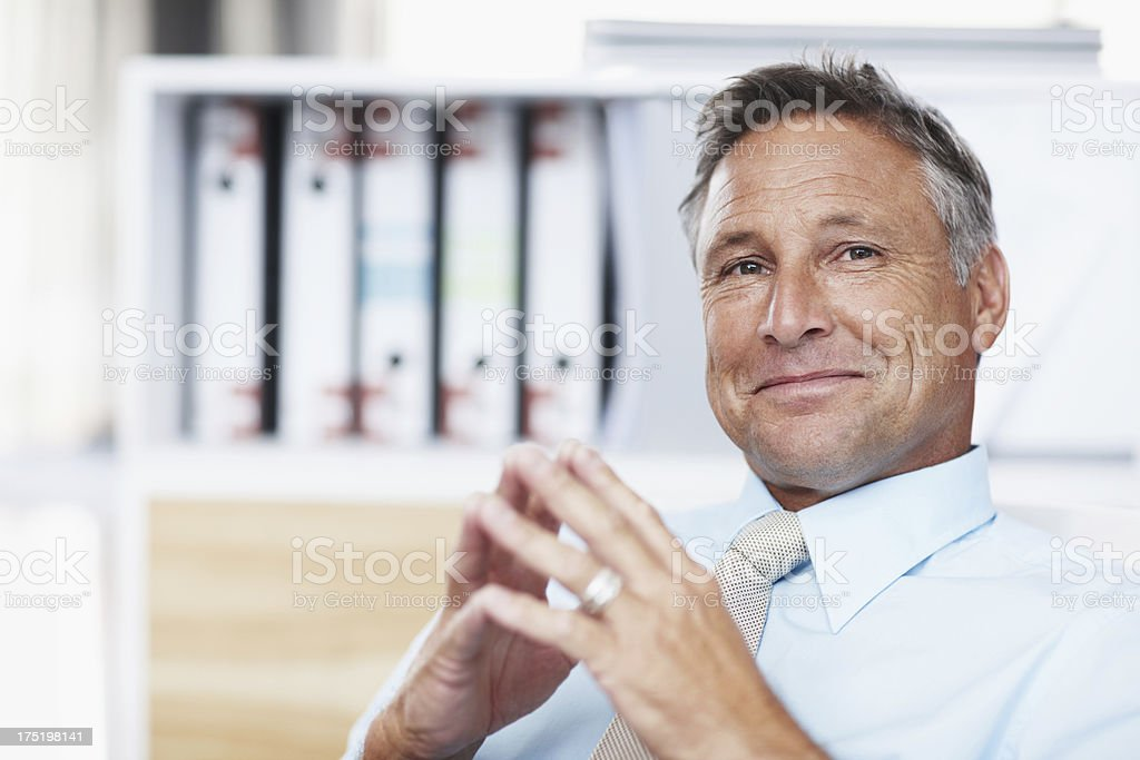 Your idea is brilliant! royalty-free stock photo