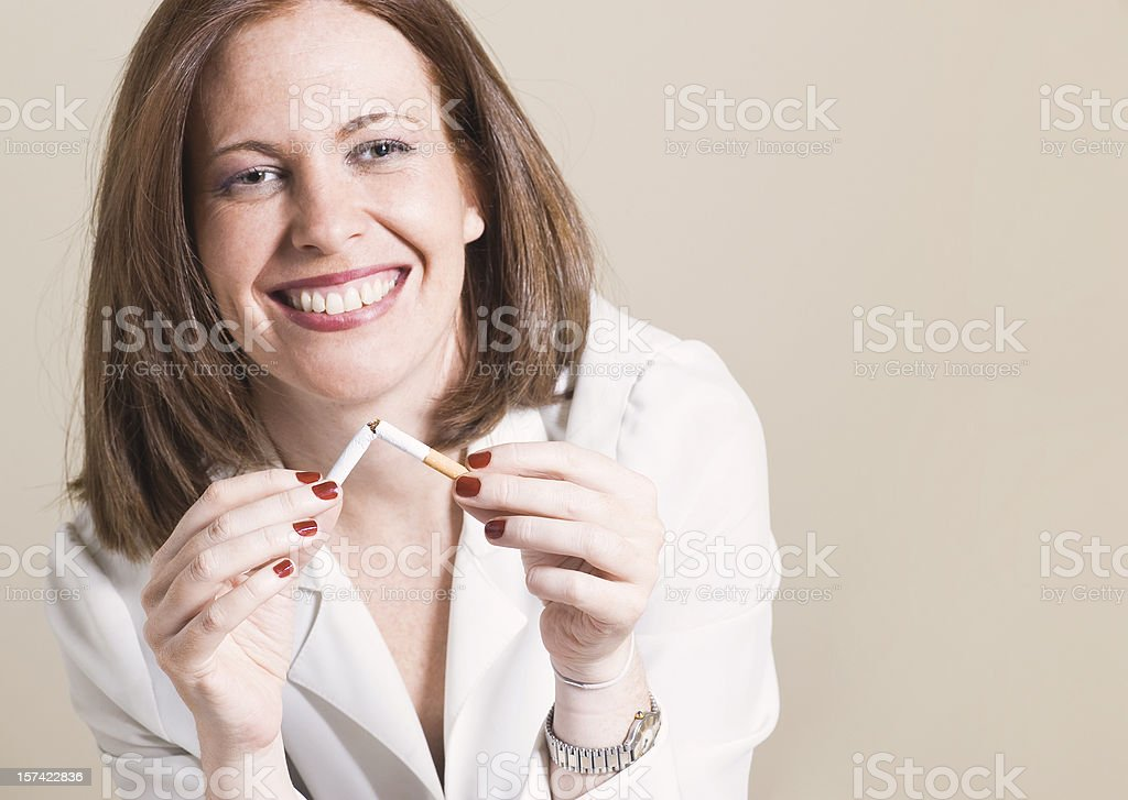 Your last cigarette? royalty-free stock photo