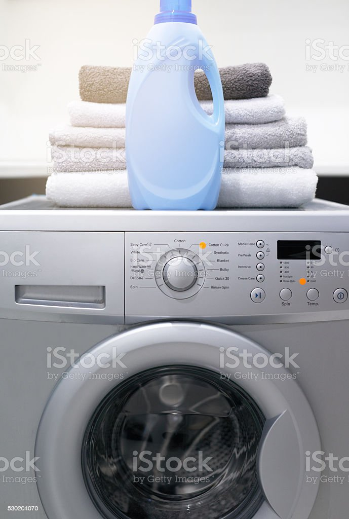 Your laundry will love it stock photo