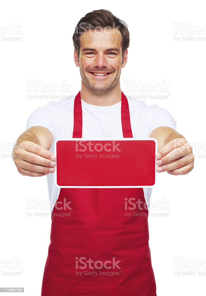 Your menu items here! royalty-free stock photo