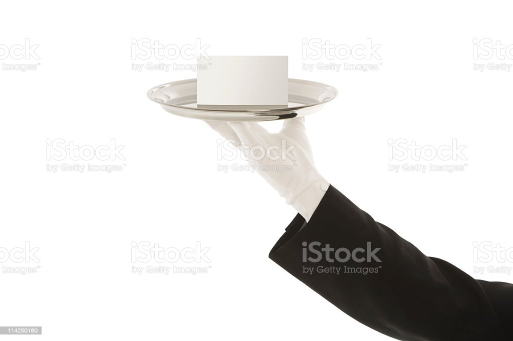 Your message goes here (XXL) royalty-free stock photo