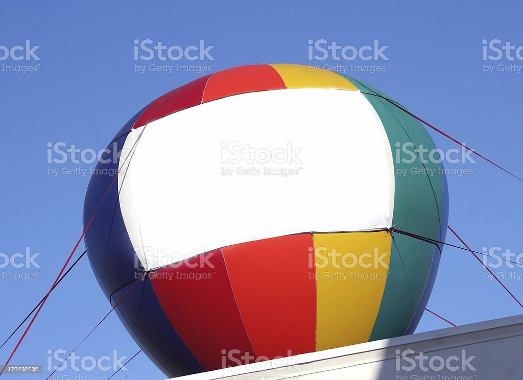 Your Message Here Balloon royalty-free stock photo