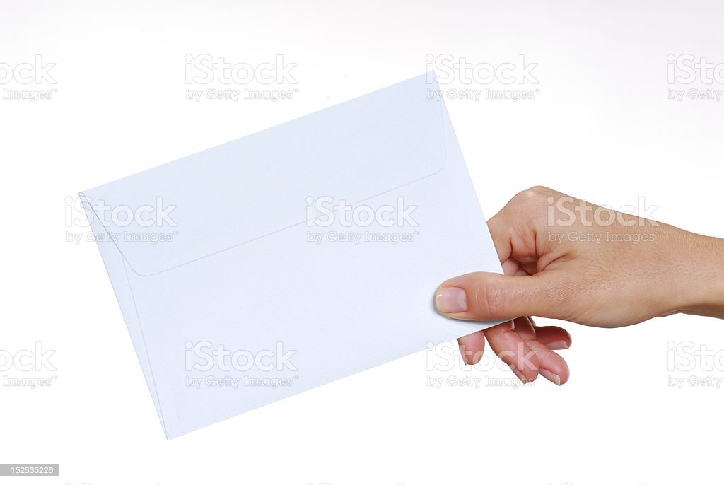 Your message. stock photo