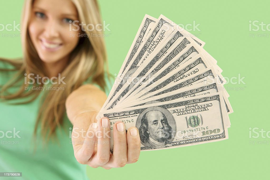 Your Money royalty-free stock photo