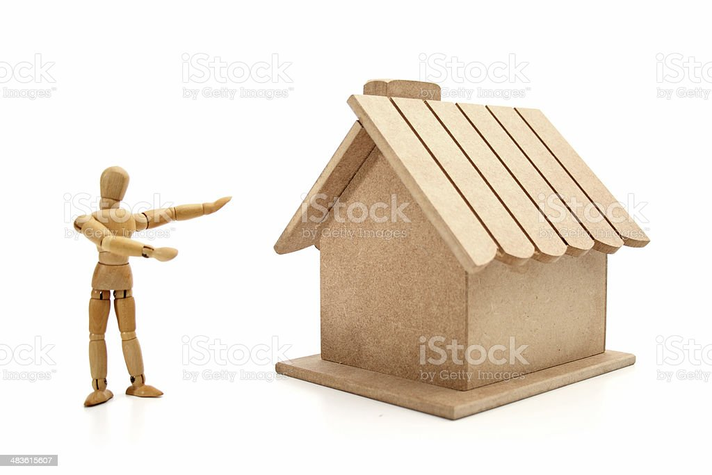 Your new house royalty-free stock photo
