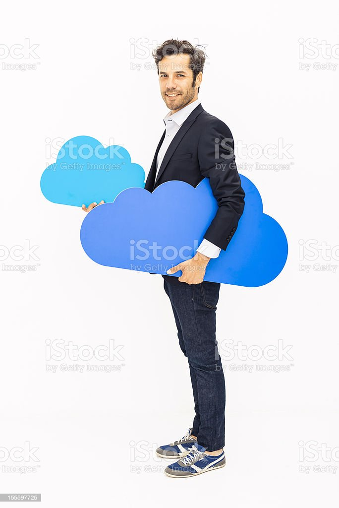 Your own cloud royalty-free stock photo