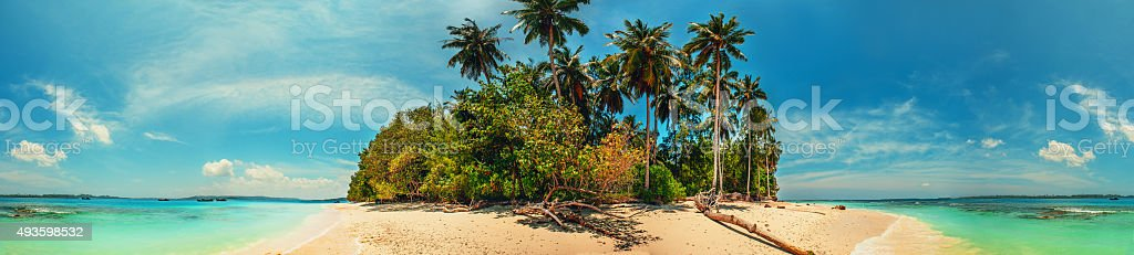 Your Own Tropical Island stock photo