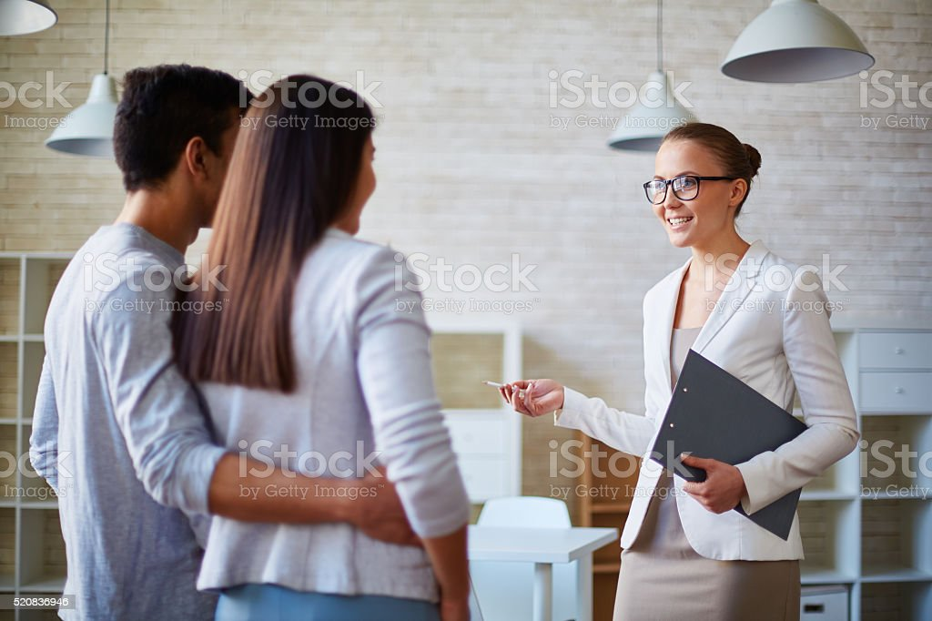 Your personal realtor stock photo