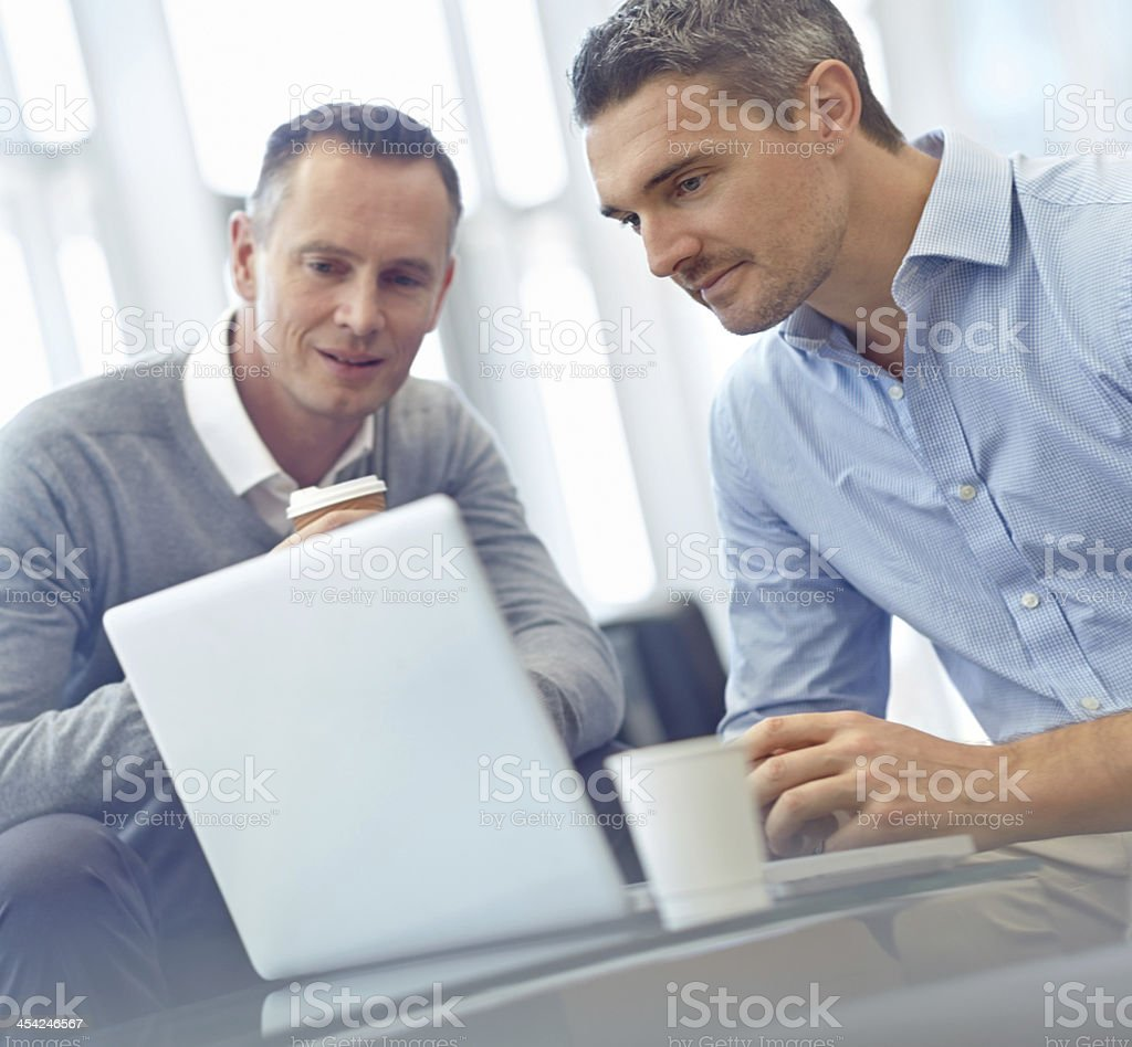 Your presentation is very impressive! royalty-free stock photo