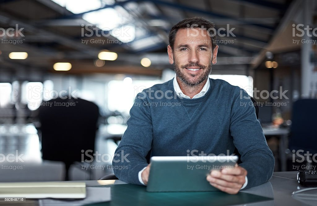 Your project is in good hands stock photo