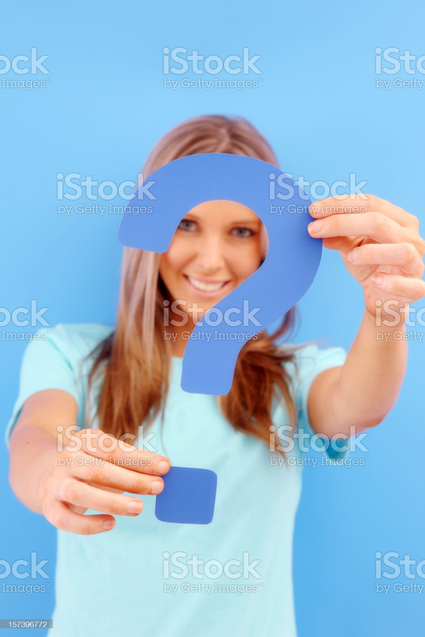 Your Questions royalty-free stock photo