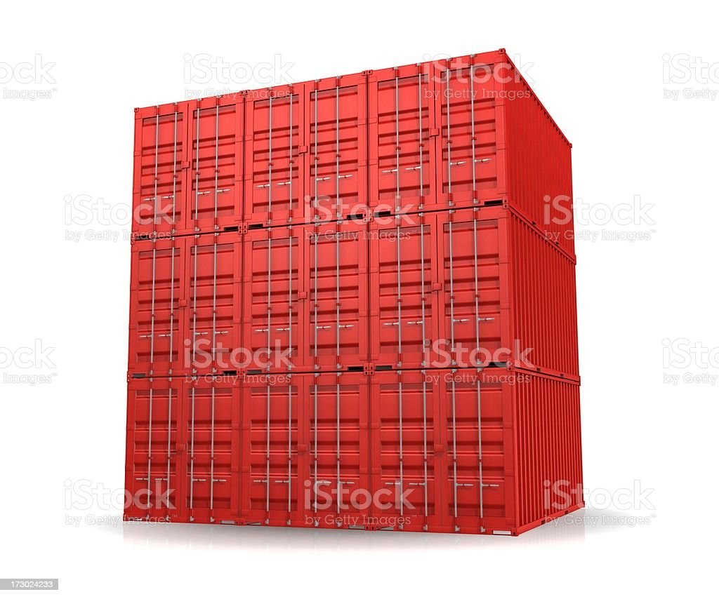 Your shipment has arrived royalty-free stock photo