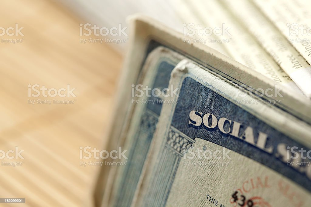 Your Social Security royalty-free stock photo
